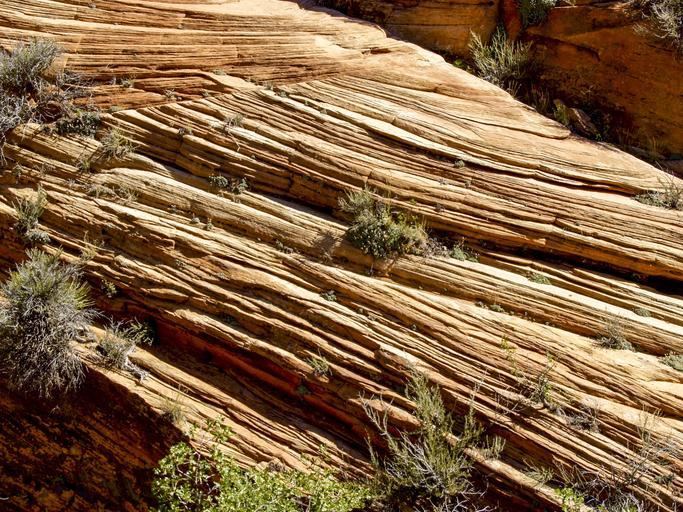 zion national park utah usa rock formation red erosion hot dry desert sand stone nature tourist attraction scenery southwest usa