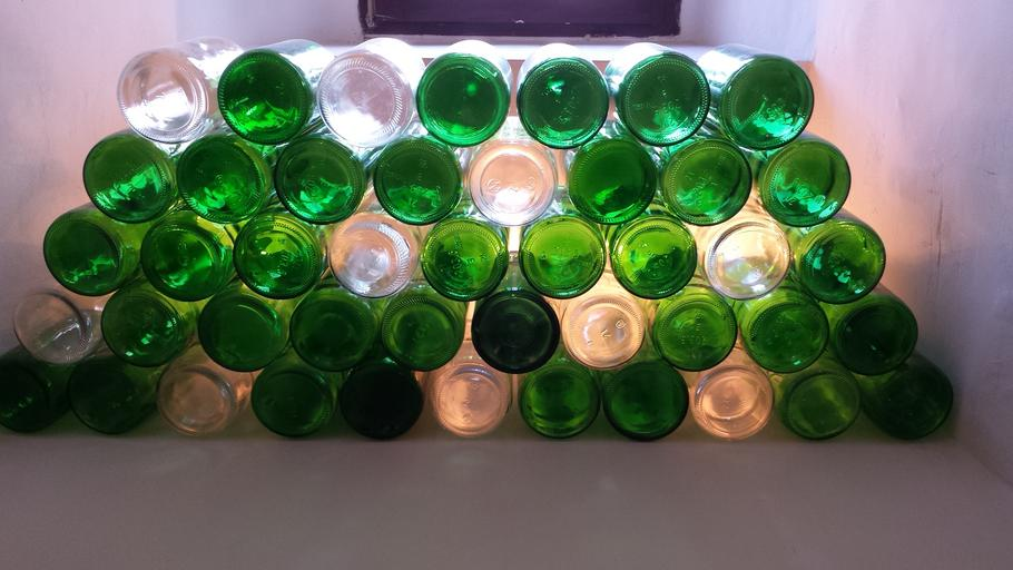 bottles wine glass glass bottles green glasses